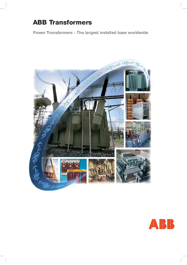 PDF) ABB Transformers Power Transformers -The largest