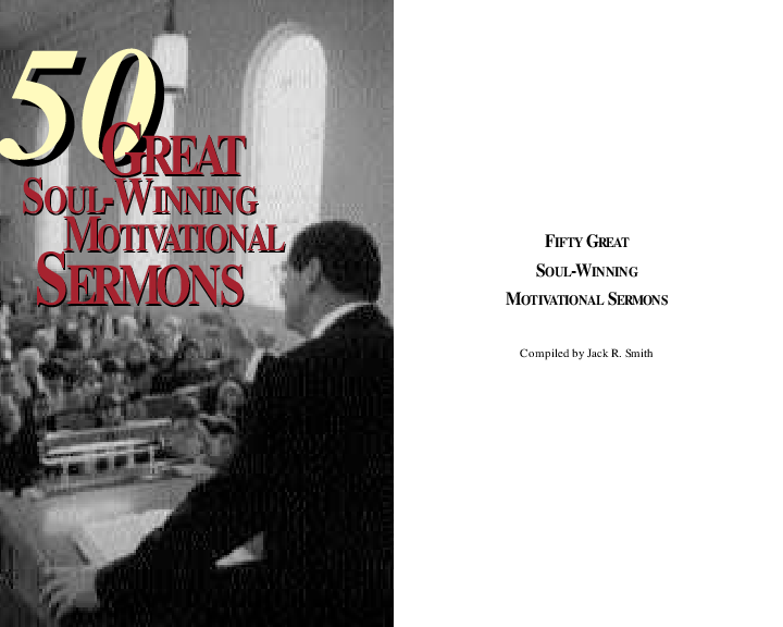 PDF) 50 0 GREAT SOUL-WINNING MOTIVATIONAL SERMONS GREAT SOUL-WINNING
