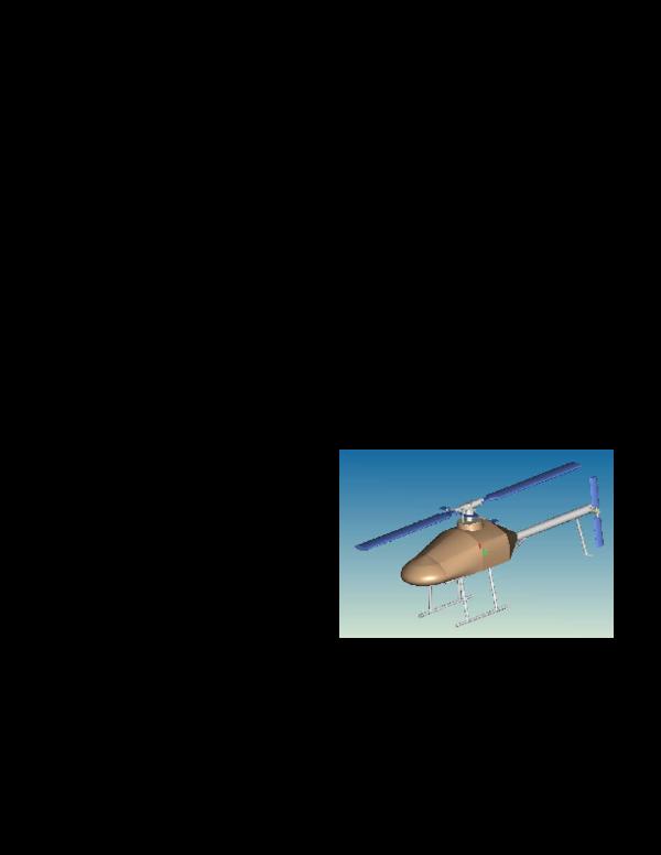 Pdf Design Specifications For An Unmanned Vtol Nikos Tsourveloudis Polychronis Spanoudakis And K Alavanis Academia Edu