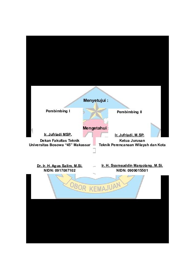 Doc Halaman Pengesahan Studi Evaluasi Kota Weda Sebagai Pusatpengembangan Cbd Di Kabupaten Halmahera Tengah Dipa Woyommer Academia Edu