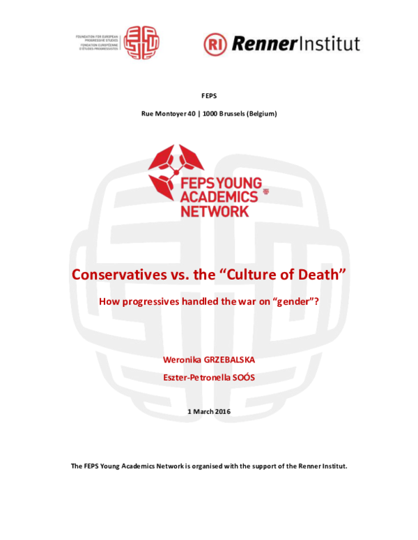 PDF) Conservatives vs  the