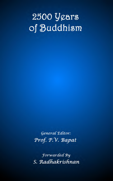 PDF) 2500 Years of Buddhism (Prof  P  V  Bapat) | TN Nguyen