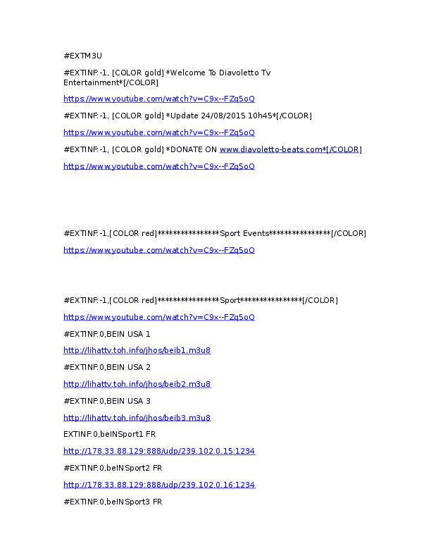 DOC) Lista kanala | sluzba projektovanje - Academia edu