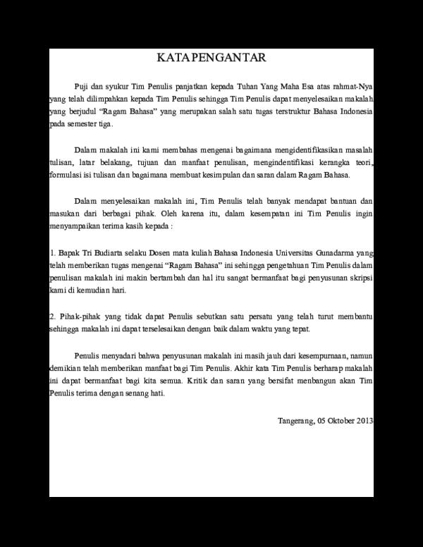 Doc Makalah Bahasa Indonesia Anto Jackals Academia Edu