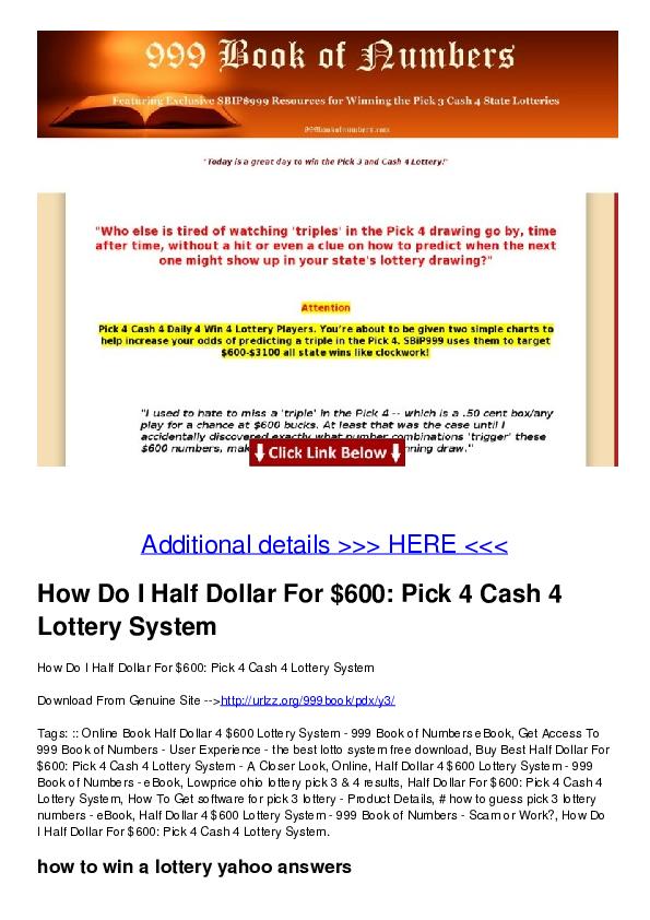 PDF) Additional details >>> HERE <<< How Do I Half Dollar For $600