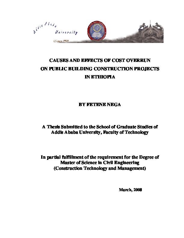 civil engineering thesis examples online