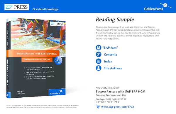 PDF) Reading Sample SuccessFactors with SAP ERP HCM Business