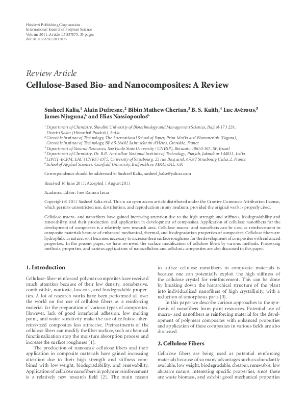 cellulose dissertation