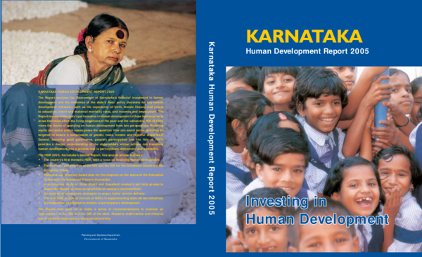 Karnataka Human Development Report 2005 (Book Chapter