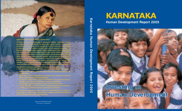 Karnataka Human Development Report 2005 (Book Chapter) | Anita