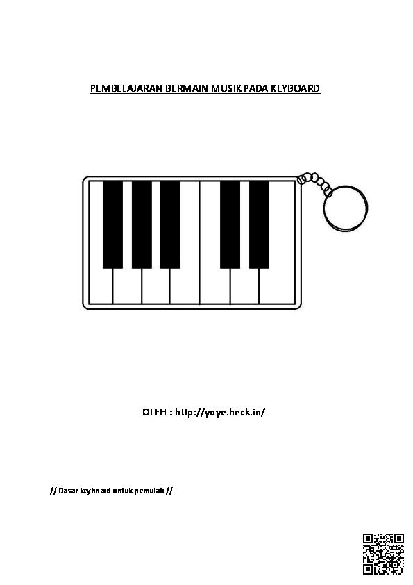 Pdf Pembelajaran Bermain Musik Pada Keyboard Teknik Eksplorasi Academia Edu