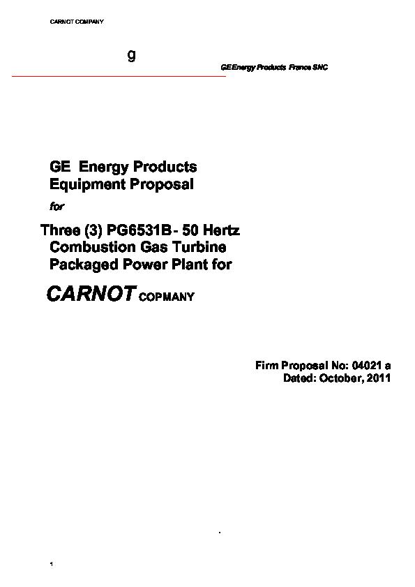 PDF) GE PG6531B GAS TURBINE | Leonardo IIR - Academia edu