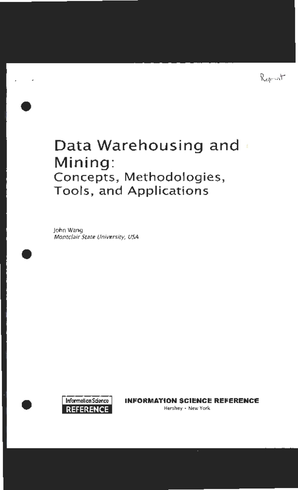 PDF) Ethical Dilemmas in Data Mining and Warehousing