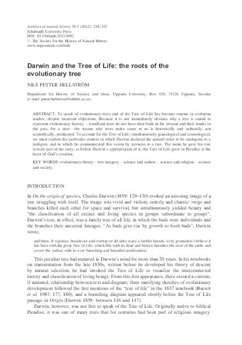 Essay Sample about Charles Darwin
