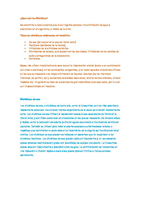 Tiazida vs hipertensión de diuréticos de asa
