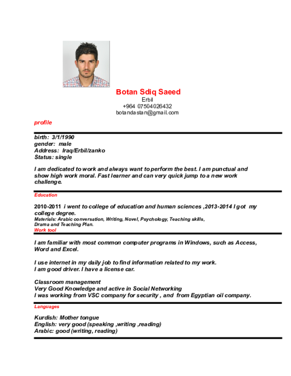 DOC) Botan Sdiq Saeed | botan dastan - Academia edu