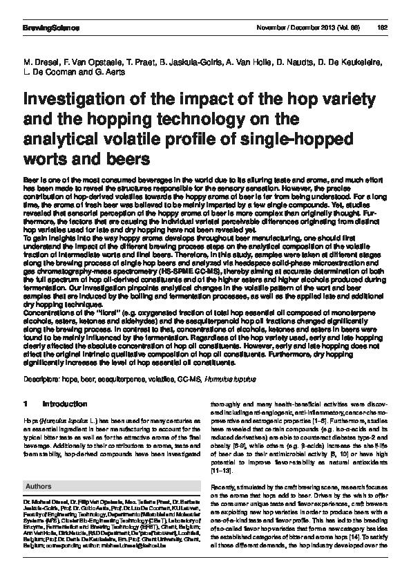 Bitter Brew PDF Free Download