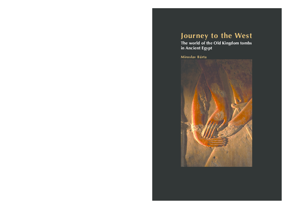 PDF) Journey to the West The world of the Old Kingdom tombs in