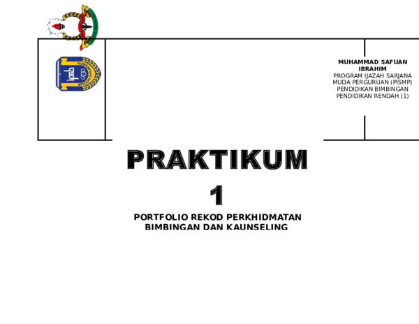 Doc Muhammad Safuan Ibrahim Program Ijazah Sarjana Muda Perguruan Pismp P R Wise Gang Academia Edu