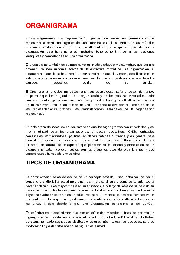 Doc Organigrama Leonardo Ferrante Academia Edu