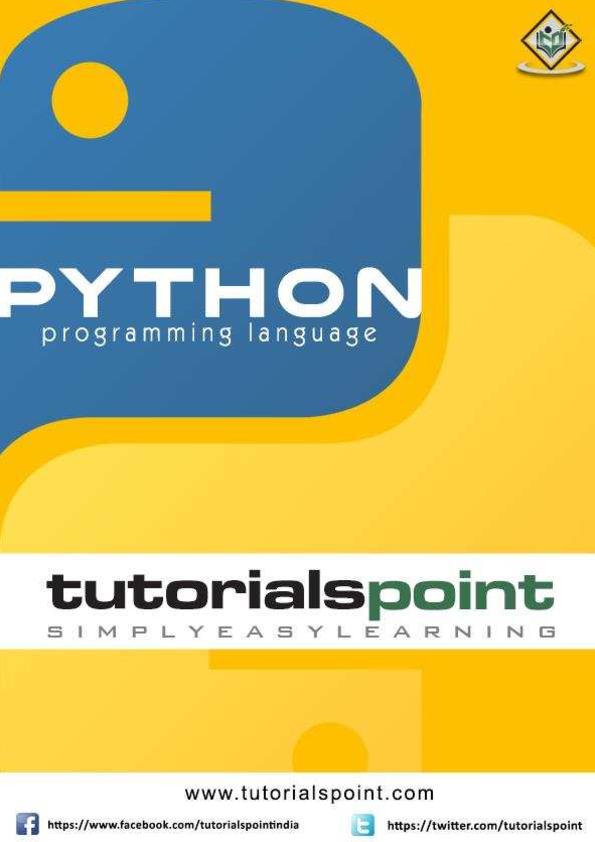 PDF) Python tutorial for begginers | Mandela Shaban