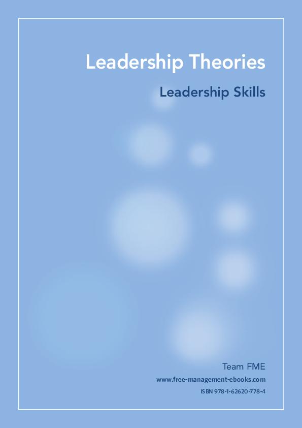 PDF) Leadership Skills   marlon mungure - Academia edu
