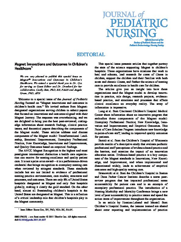 Pediatric Endocrinologist Nurse