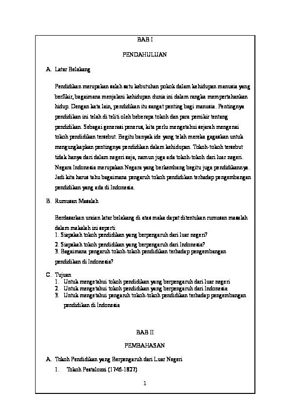 Doc Tokoh Tokoh Pendidikan Limutia Dilla Academia Edu