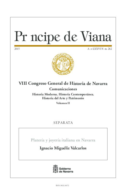 5afdb816fb49 PDF) Platería y joyería italiana en Navarra