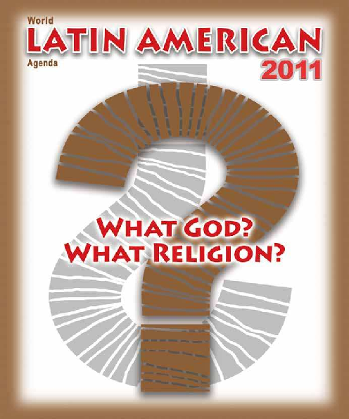PDF) 2011 World Latin American Agenda - What God? What