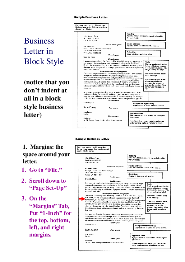 Block Format Business Letter from 0.academia-photos.com