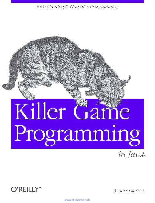 PDF) Killer Game Programming in Java   Vamsi Krishna Alla