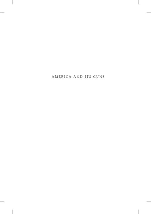 PDF) America and Its Guns TEXT | James Atwood - Academia edu