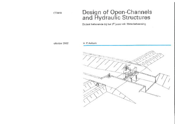 PDF) Design of Open-Channels and Hydraulic Structures | edwin
