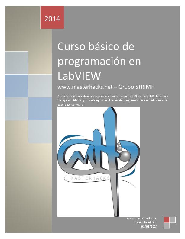 PDF) Manual básico de programación en LabVIEW 2 edición