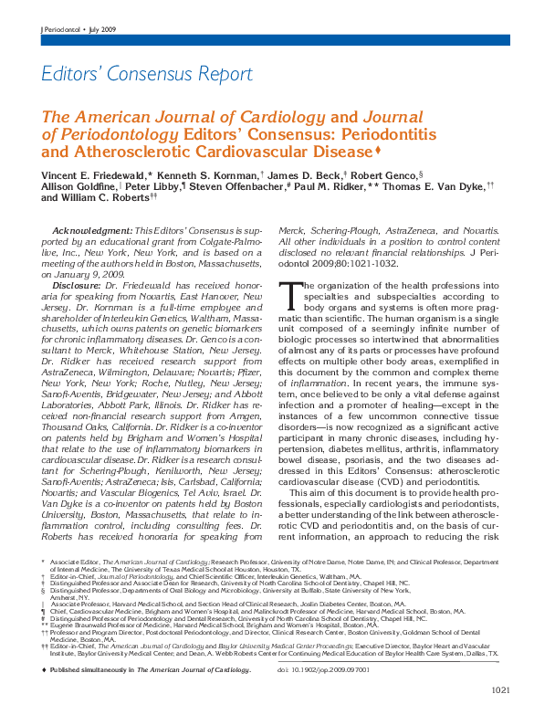 PDF) The American Journal of Cardiology and Journal of