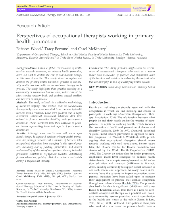 Occupational therapist research paper emory scholars essay prompt