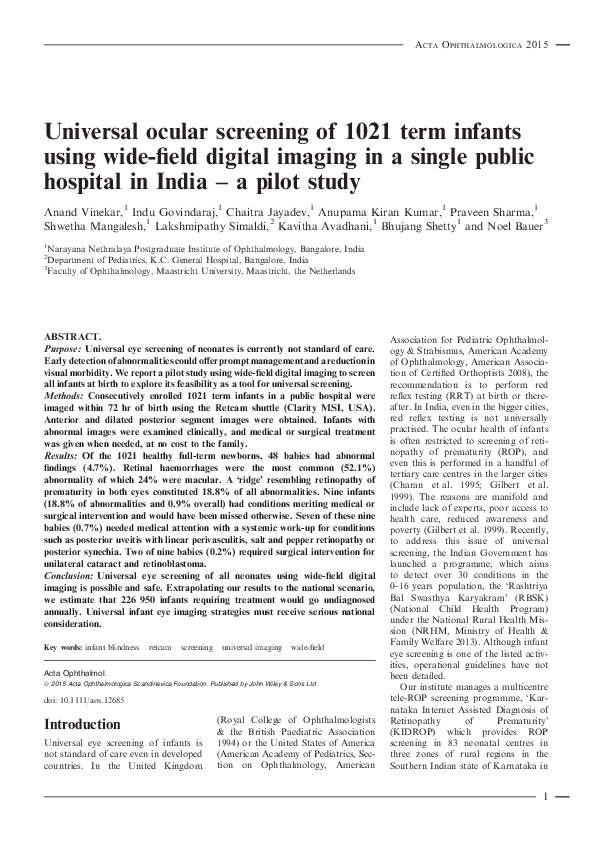 Ophthalmology pdf general