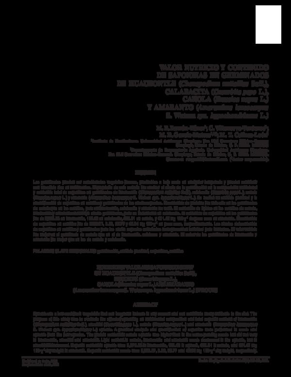 saponinas en alimentos pdf