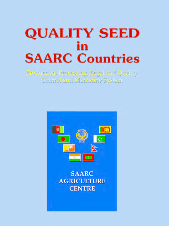 PDF) Quality seed in SAARC Countries (2011) | Ibrahim Saiyed