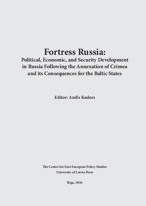 PDF) Fortress Russia: Political, Economic, and Security
