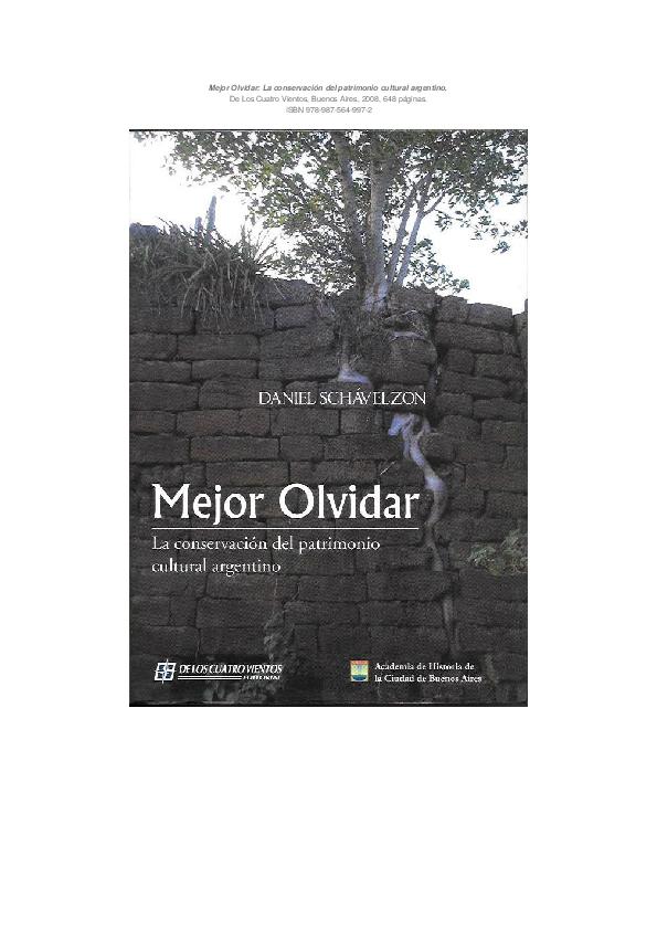 Mejor Olvidar  la conservación del patrimonio cultural en la ... 18c4de856c545