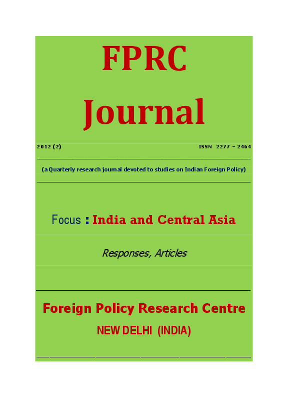 Pdf India And Central Asia Sushmitha Kudlu Academia Edu