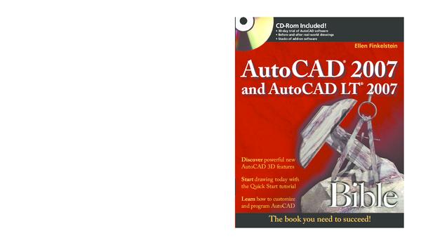 PDF) Ellen Finkelstein Discover powerful new AutoCAD 3D features