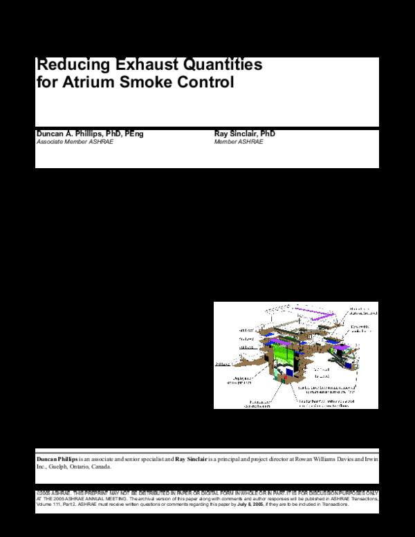 Pdf Ashrae Transactions Smoke In Atria Denver Paper Duncan Phillips Academia Edu