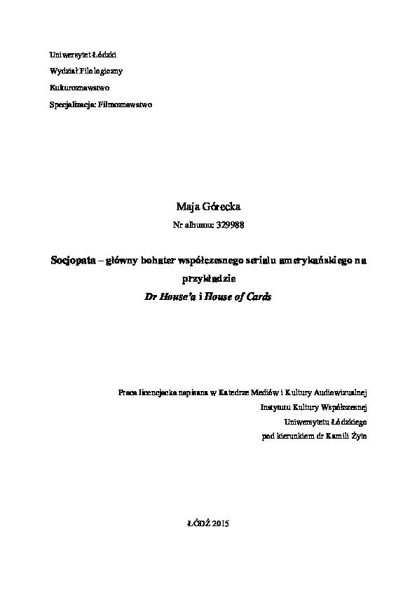 18 znaków z datą socjopaty