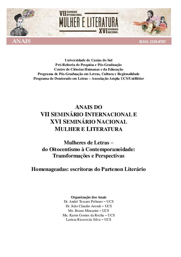 O travestismo na literatura escrita por mulheres em Portugal no ... 908f3bf7c74d4