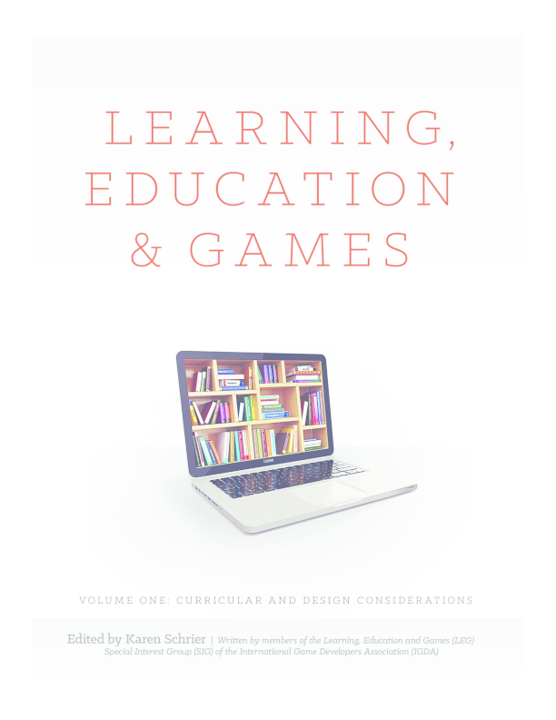 PDF) Learning, Education and Games  Volume One | Sabrina