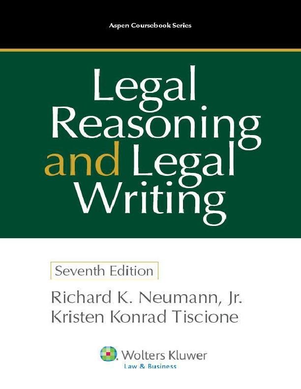 Bilder Sch303266ne Weihnachten.Pdf Legal Reasoning And Legal Writing 7th Wei Liu