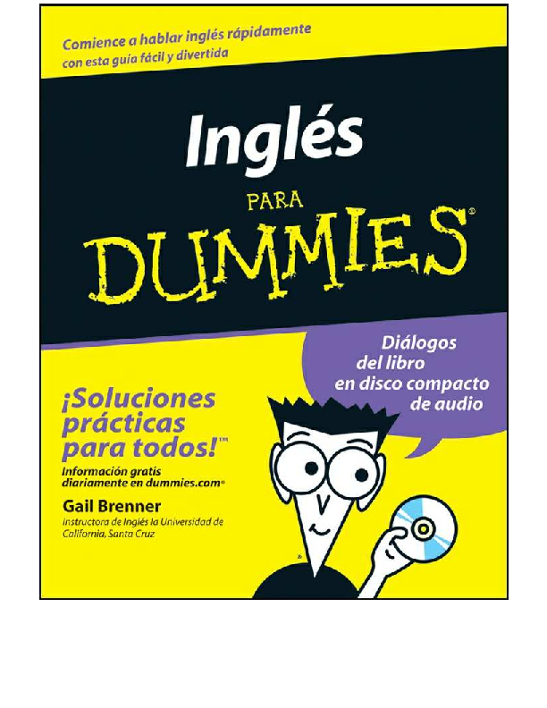 PDF) IngLÉs para Dummies | Yazmin Baltazar - Academia edu